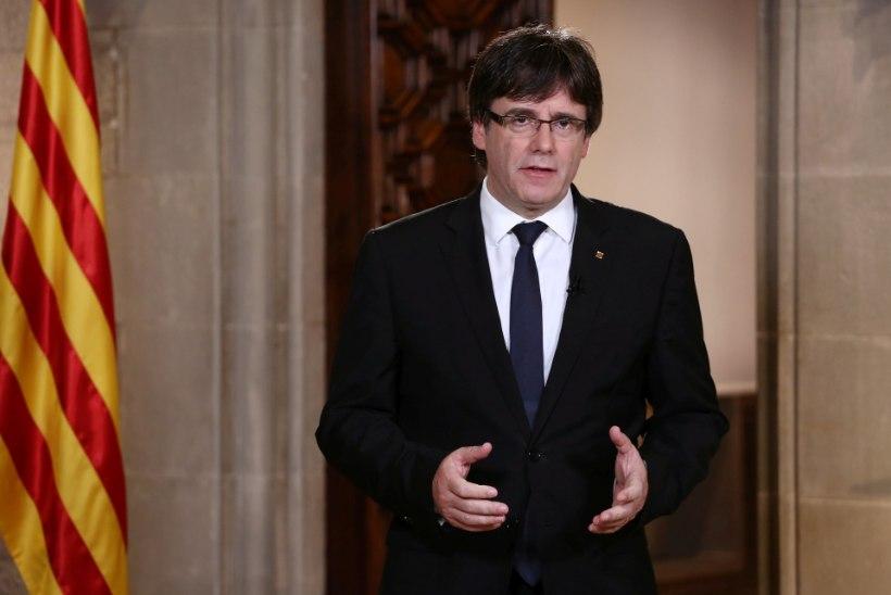 Kataloonia president süüdistas Hispaania kuningat miljonite katalaanide ignoreerimises