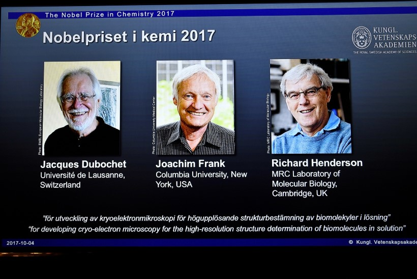 Nobeli keemiapreemia läks krüoelektronmikroskoopia leiutajatele