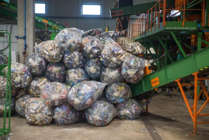 Piirikaubandus Lätis nurjas joogitootjate plaani rajada plastmasspudelite ümbertöötlemiseks Eestisse tehas