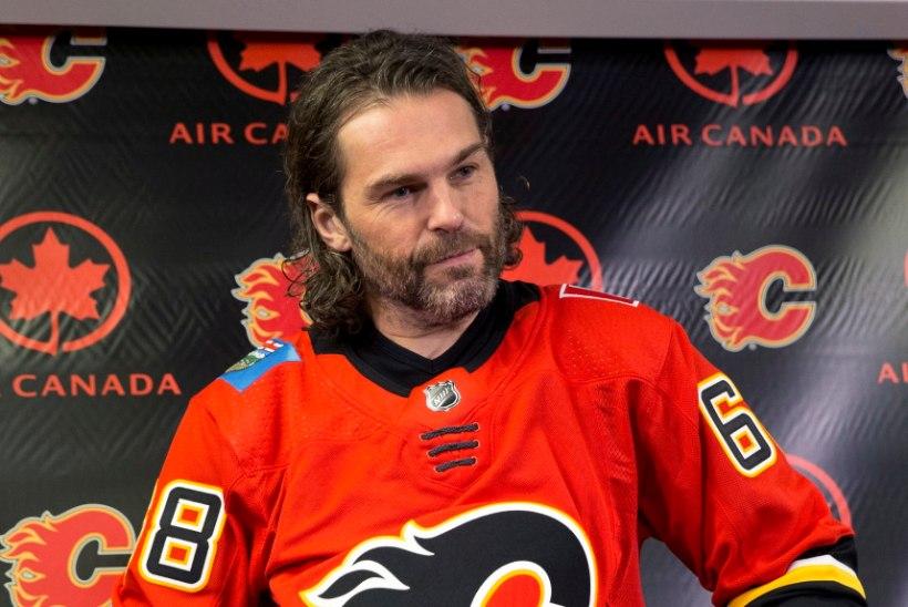 Uskumatu mees: Jaromir Jagr sõlmis lepingu Calgaryga ja alustab NHLis 24. hooaega!