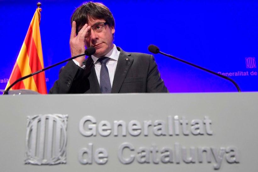 Hispaania valitsus nimetab Kataloonia juhi tegevust väljapressimiseks