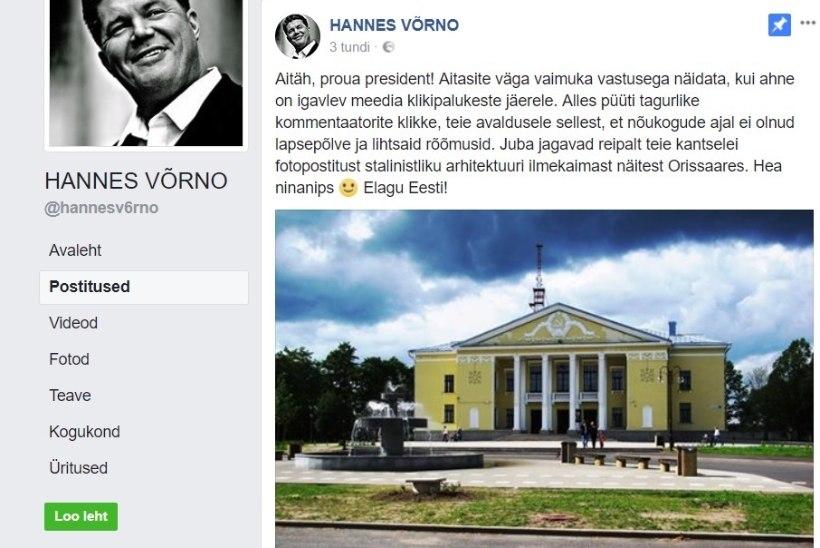 VÕRNO PRUUKIS SUUD: president Kaljulaid tuli praamil vastu kui Orissaare seeneline!