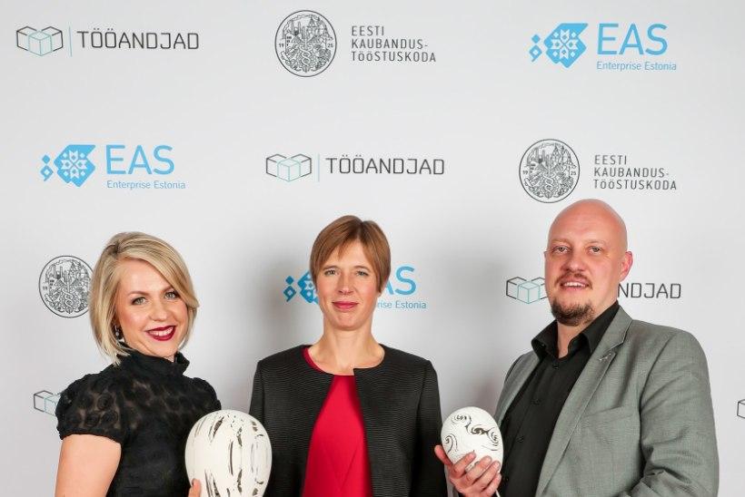 FOTOD | Pidulikul galal auhinnati Eesti silmapaistvamaid ettevõtteid