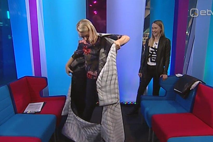 VIDEO | Vaata, kuidas Grete Lõbu voltimistehnikas rõivast selga proovis!