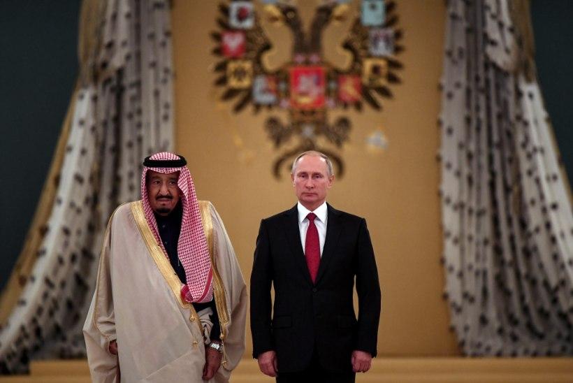 Läänemaailm jälgib huviga Saudi kuninga ja Putini kohtumist