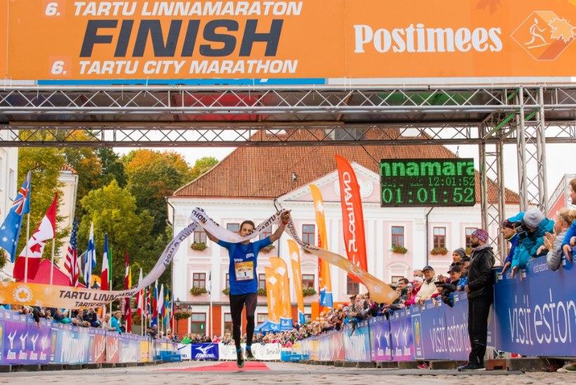 GALERII   Tartu linnamaratonil tehti rekord, osales ka 3000 last