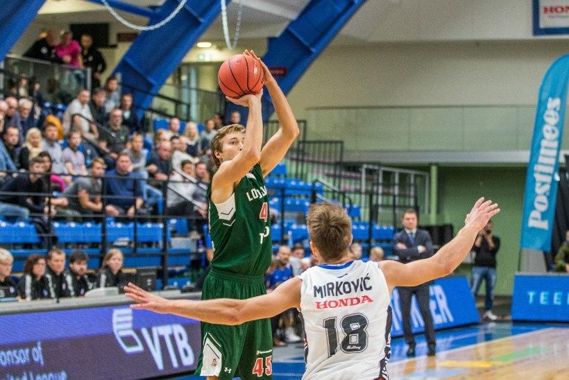 7 VÕTIT | Ühisliiga algas kaotusega, BC Kalev/Cramo - Lokomotiv-Kuban 62:88 + GALERII