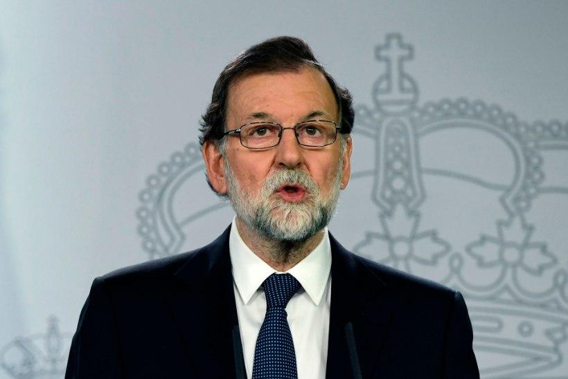 Peaminister Rajoy: mina Barcelonaga ei kõnele!