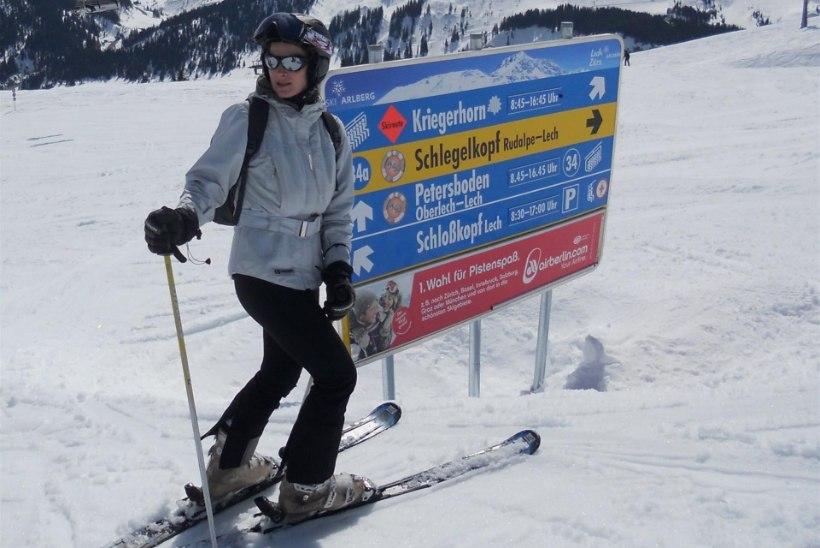 Alpinist Katrin Merisalu: «Paar korda aastas pean ikka ära käima.»