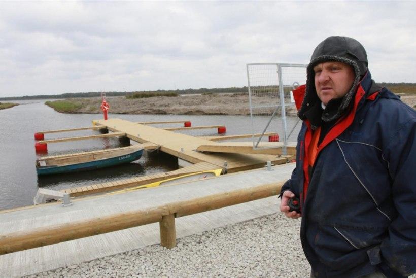 Taastatud Hara kalasadam vähendab kalurite jalavaeva