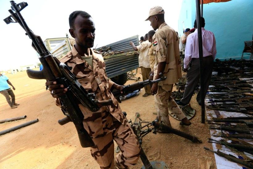 Darfuris rööviti eile šveitslanna