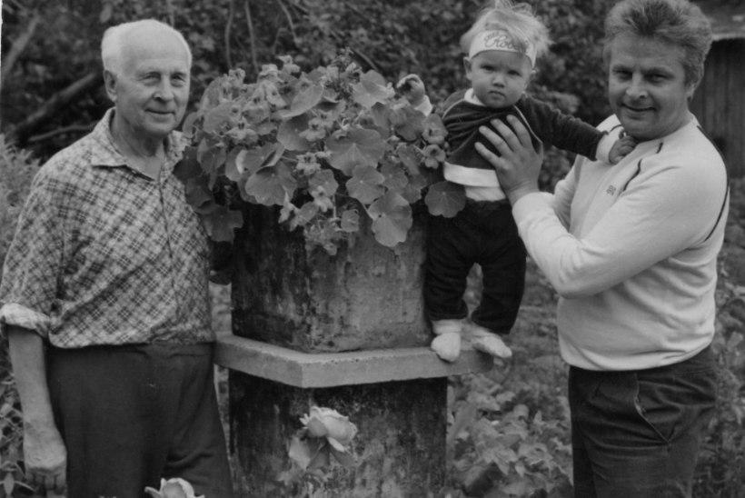 Ivo, Robert ja Albert: kolm põlvkonda Linnasid kasvavad koos