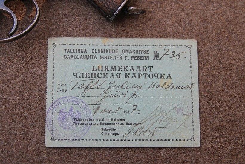 Omakaitse Kaitseliidu hällina ehk Omaalgatusliku riigikaitse sünnilugu aastatel 1917 kuni 1918