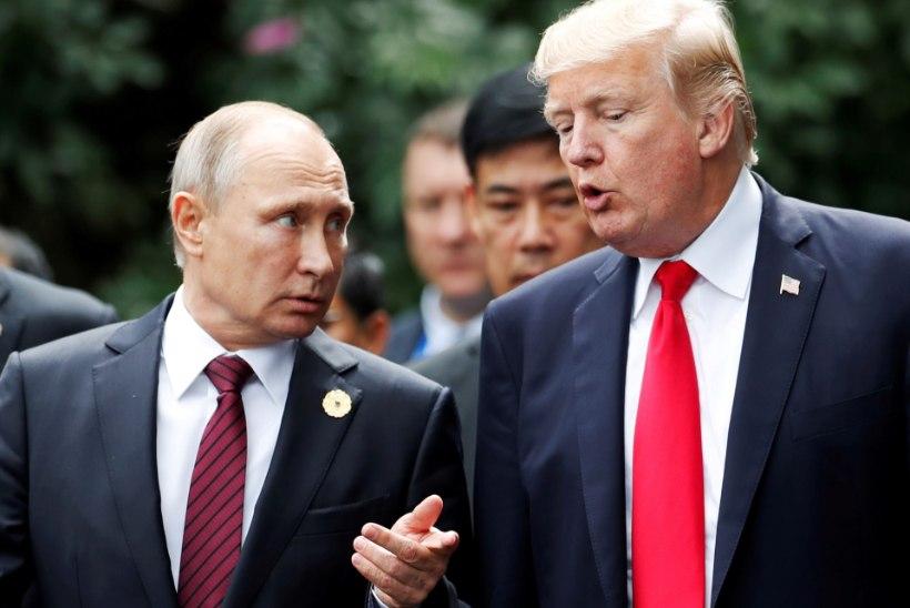 Trump ja Putin leppisid kokku ISISe alistamises Süürias