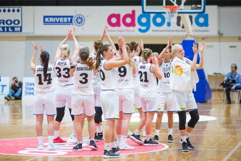GALERII | Eesti korvpallinaiskond võitles, kuid kaotas selgelt tugevale Türgile
