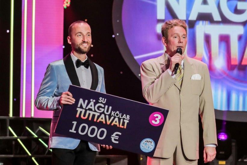 ÕL VIDEO | Näosaate võitja Andres Dvinjaninov: Eestis on kaks meest, keda ma ei tahtnud järele teha - Lauri Saatpalu ja Mart Sander