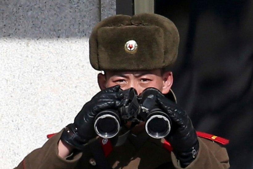 Põhja-Korea sõdur jooksis üle Lõuna-Koreasse