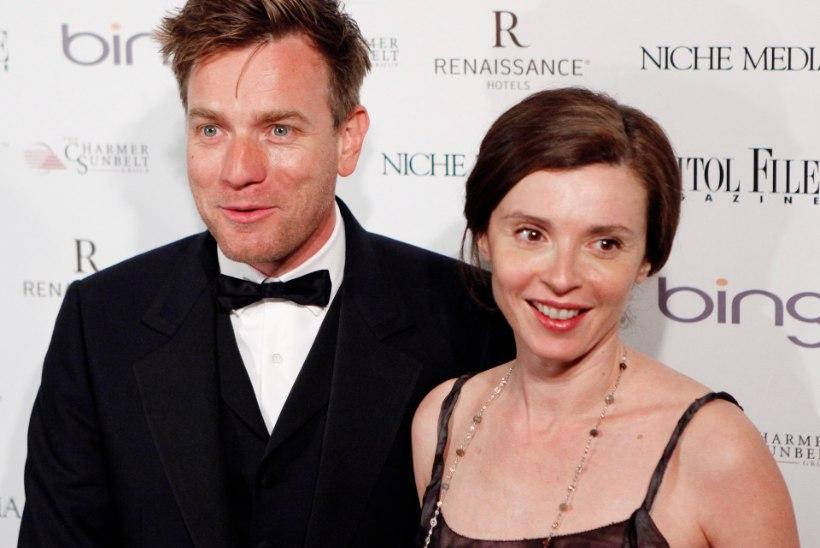 Abielumees Ewan McGregor demonstreerib uhkelt uut noort kallimat