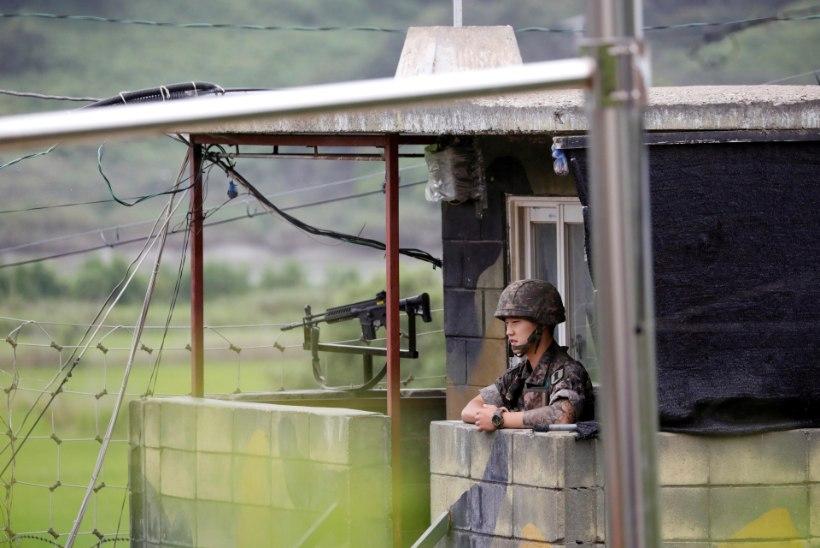 Põgeneda üritanud põhjakorealase suunas tehti vähemalt 40 lasku