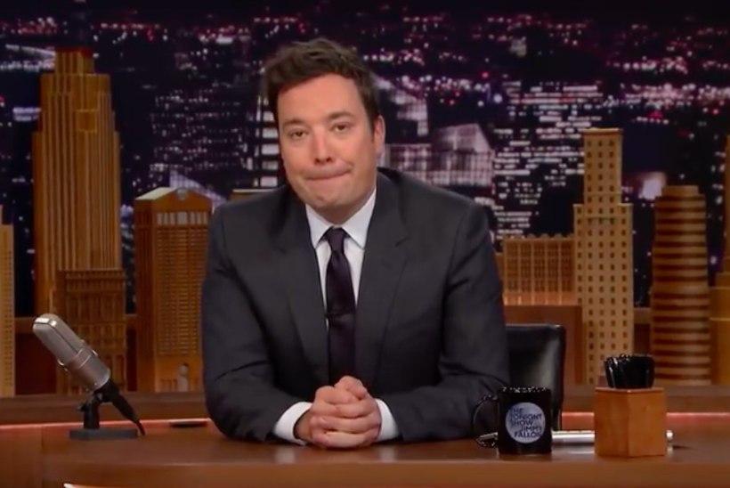 EMOTSIONAALNE VIDEO   Jimmy Fallon naases nädal pärast ema surma tele-ekraanile ning puhkes nutma