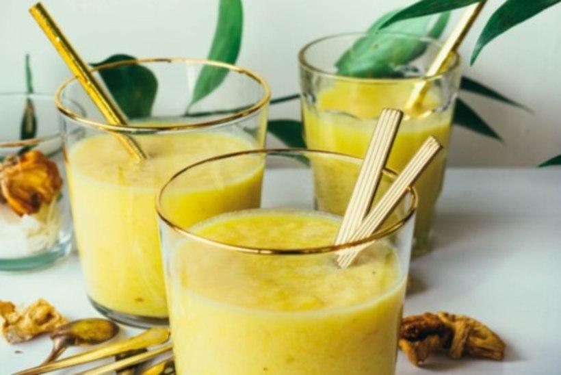 Mõnus algus päevale: veidi vürtsikas ananassismuuti