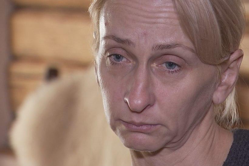 """""""Minu imeline muutumine"""" liigutav lõpuosa – koduvägivalla all kannatav murtud nina ja koljuluuga Sigrid!"""
