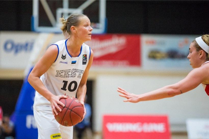 Eesti korvpallinaiskond sõidab Valgevenest tagasi suure kaotusega