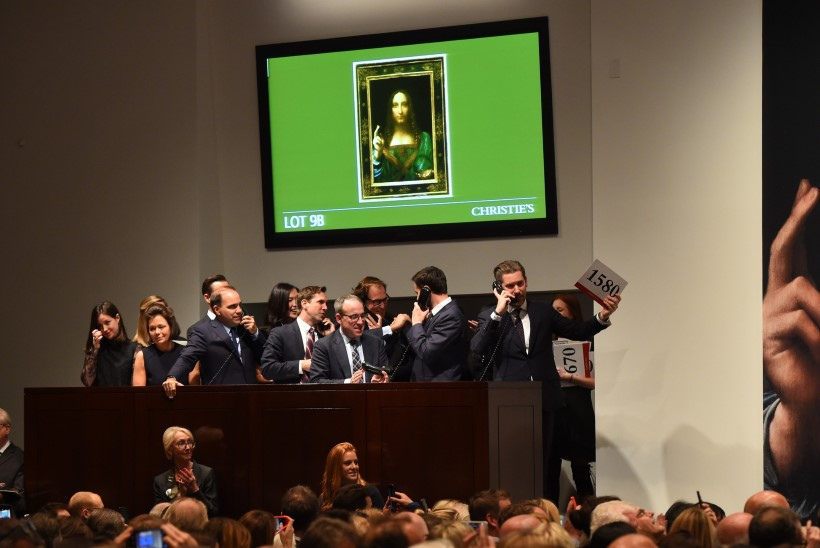 Da Vinci maalist sai maailma kalleim kunstiteos