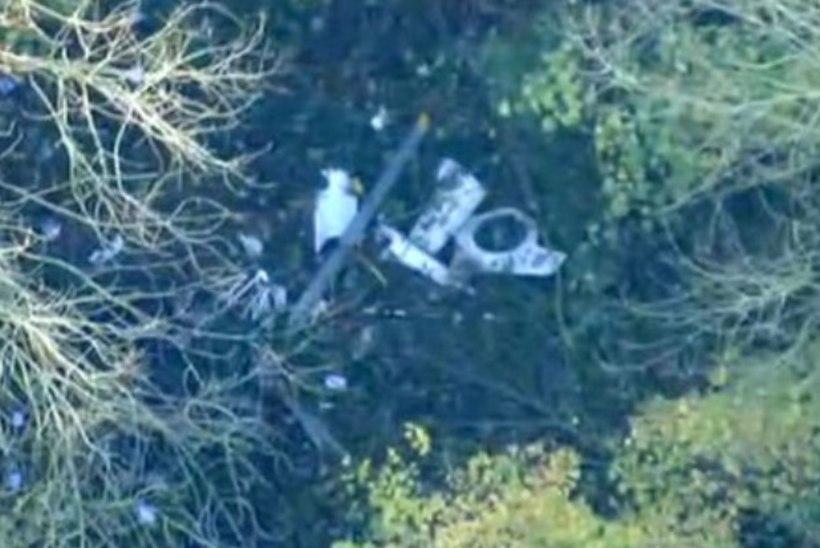 Inglismaal põrkasid kokku helikopter ja väikelennuk