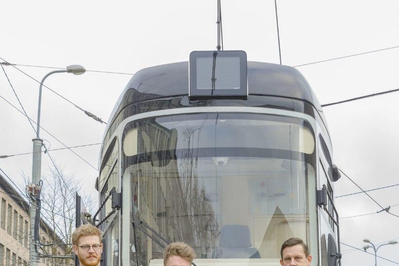UUS MUUSIKAVIDEO   Jan Uuspõld kinkis Eesti Vabariigile trammi number 66