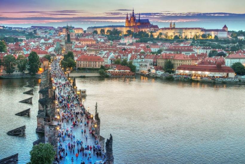 Pikk nädalalõpp romantilises Prahas