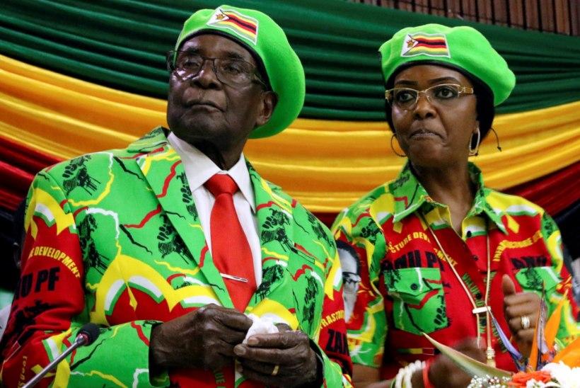 Mugabet süüdistatakse, et ta laskis naisel võimu võtta