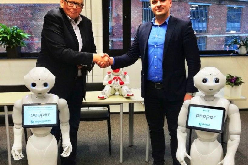Sihtasutus Virumaa Muuseumid soetab humanoidroboti