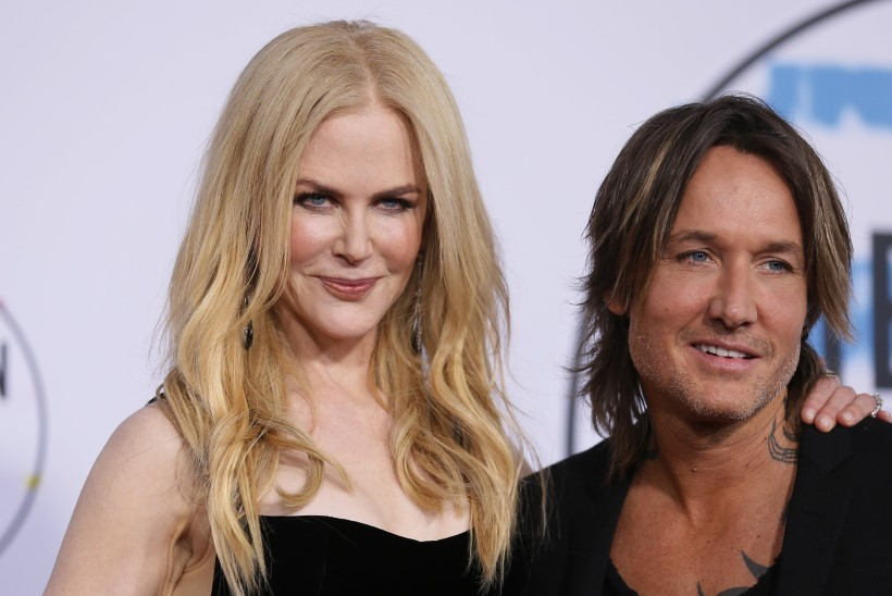 Kummal on võimsam dekoltee, Nicole Kidmanil või tema mehel?!