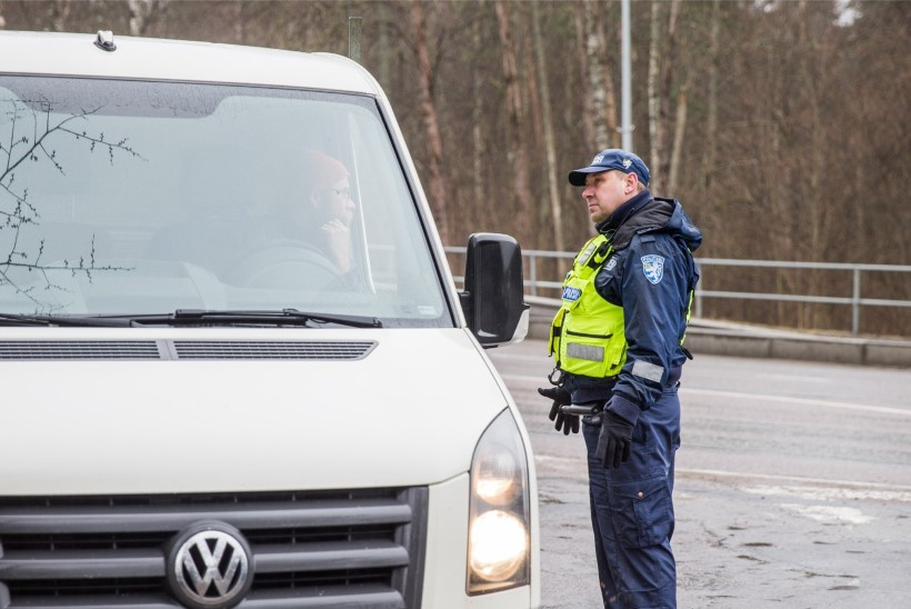 Politsei tabas ebaseadusliku võõrtöölise