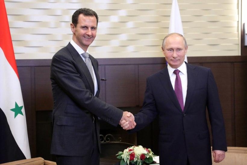 Putin: sõda Süürias läheneb lõpule
