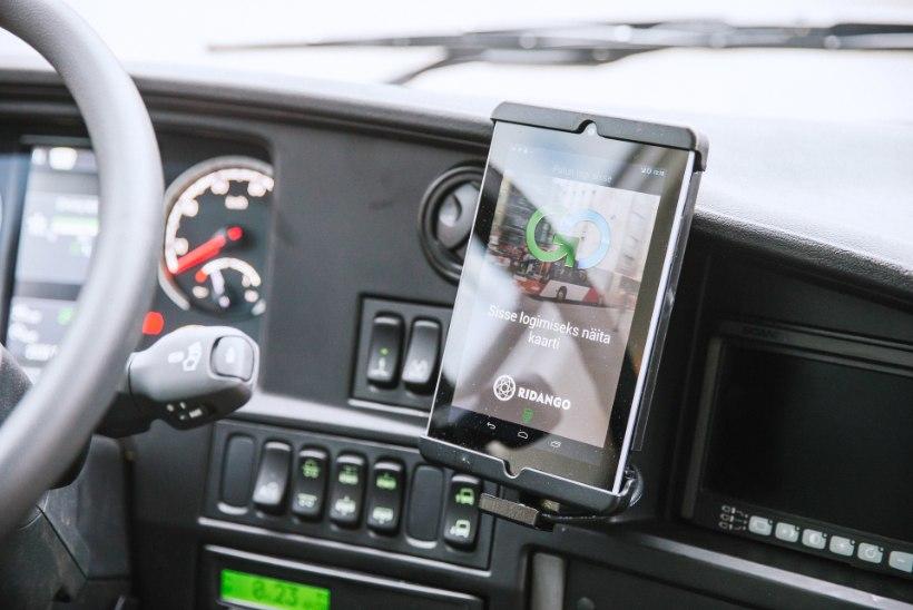 Tasuta bussisõiduks aparatuuri ostmisega võib kiireks minna
