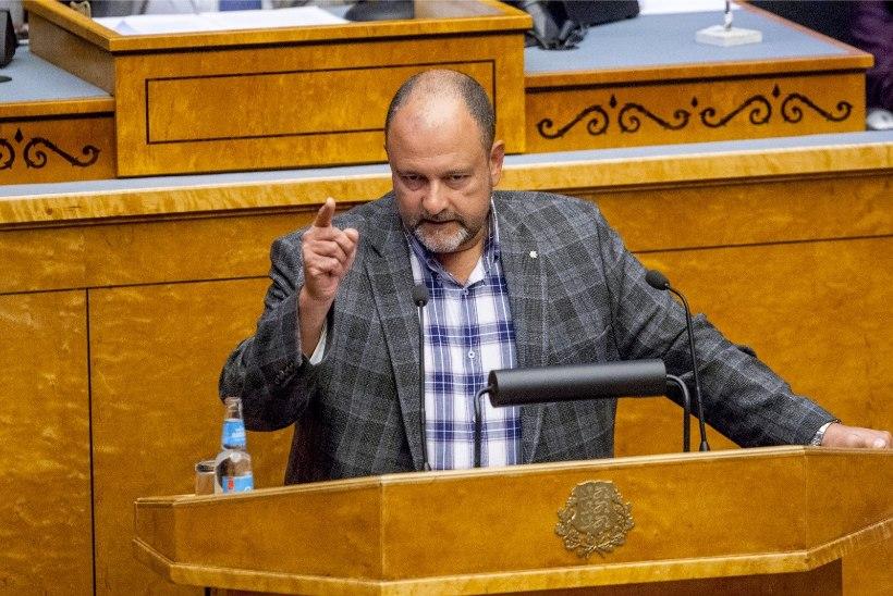 TÜLI RIIGIKOGUS: Herkel süüdistab Stalnuhhini kodulinna korruptsioonis, vastuseks sõimati pedofiiliks