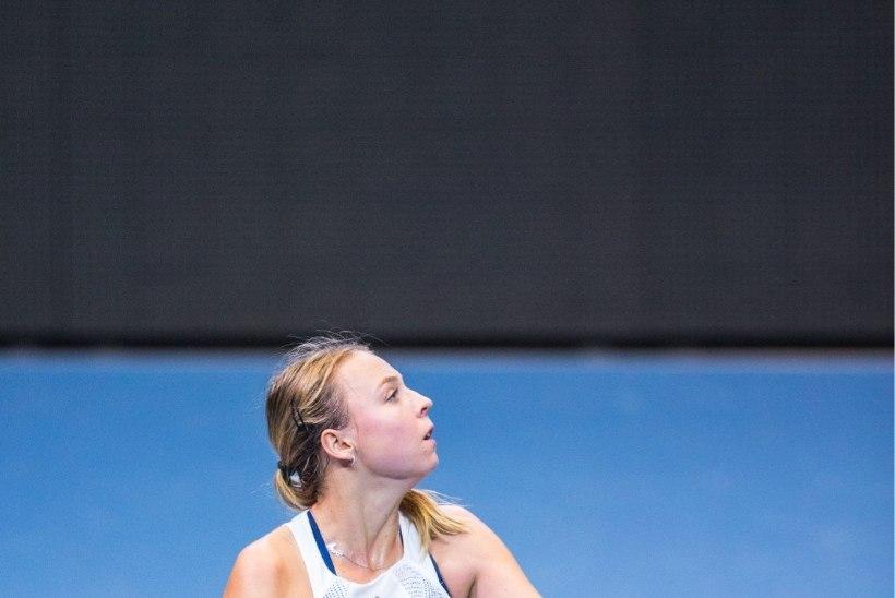 Tennisetipud pakkusid kõrgetasemelise etenduse, Kanepi võitis
