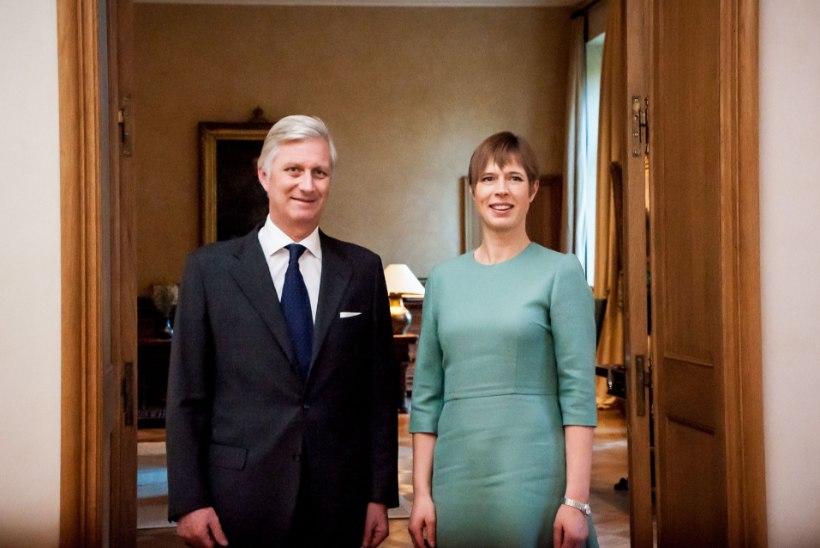 FOTOD | Kaljulaid kohtus belglaste kuninga ja peaministriga