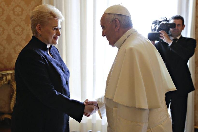 Paavst Franciscus külastab Baltimaid 2018. aasta septembris