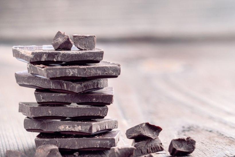 Laboriarst: tükike tumedat šokolaadi on meie tervisele igati kasulik