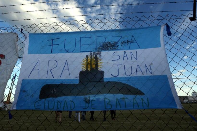 Argentina merevägi tunnistab: kadunud allveelaeval toimus mitu päeva tagasi plahvatus