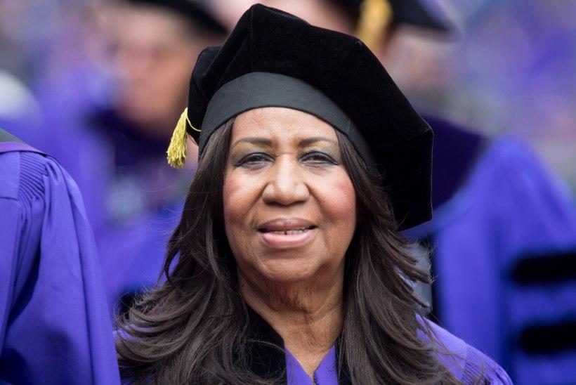 Hirmuäratavalt kõhn Aretha Franklin kommenteerib oma tervislikku seisu