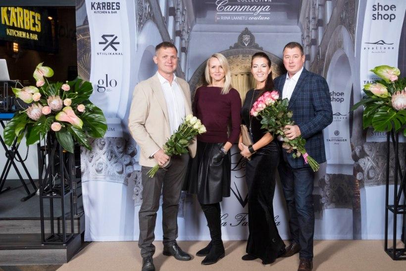 GALERII | Riina Laanetu esitles brändi La Famiglia kopranahkadest ja kleitidest lummavat kollektsiooni