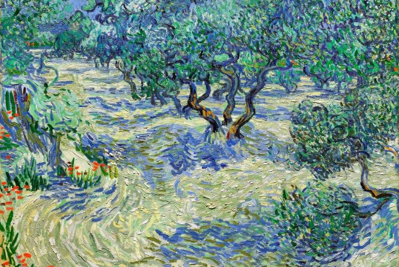 Van Goghi maalilt leiti rohutirts