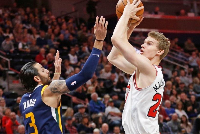 VIDEO |  Markkanen ja Bulls said hävitava kaotuse, Porzingis tõusis mängu parimaks