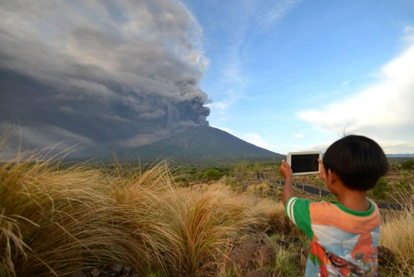 EESTLASED BALIL: vulkaanipaanika on mõttetult suur