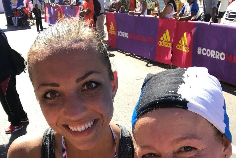 KERTU JUKKUM lõpetas Kuuba maratoni!