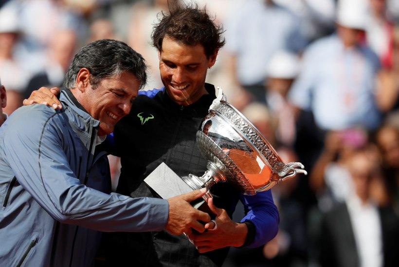 Lõppes tennisemaailma unistuste paari, Rafael ja Toni Nadali koostöö